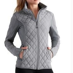 Athleta upside down quilted jacket